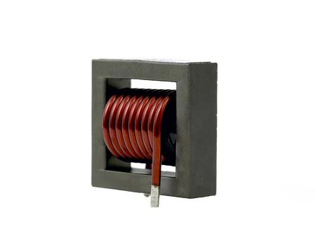 component: Inductive component, copper wire coil, ferrite core