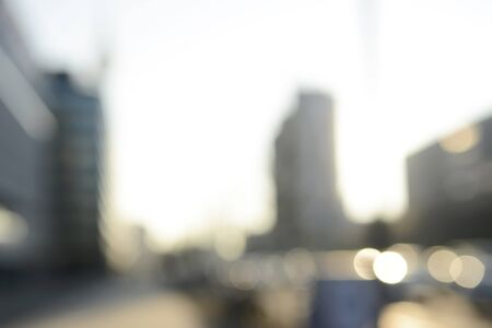 high rise buildings: City, high rise buildings, blurred