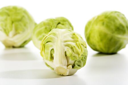 Brussels Sprouts, close-up Stock Photo