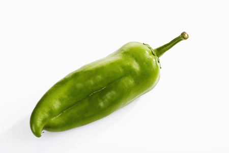 pointed: Hungarian pointed pepper, green Stock Photo