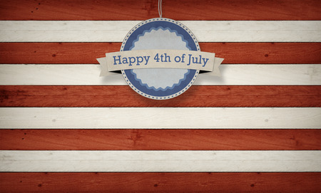 Fourth of July, Background, USA themed composite Stock Photo - 38832410