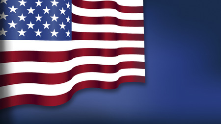 blue background: Fourth of July, Background, American Flag