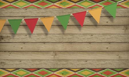 Cinco de Mayo,美国墨西哥庆祝,背景。木拷贝空间