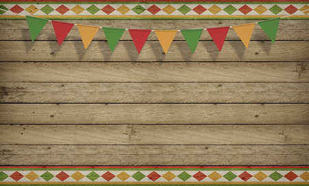 シンコ ・ デ ・ メキシコ、アメリカのセレブ、背景。木製コピー スペース