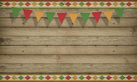 Cinco de Mayo, USA Mexican Celebration, Backgrounds. Wood copy space
