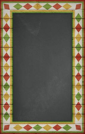 シンコ ・ デ ・ メキシコ、アメリカのセレブ、背景。空の黒板
