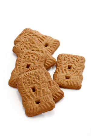 almond biscuit: Spice almond biscuits Stock Photo