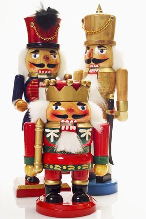 wood figurine: Three nutcrackers