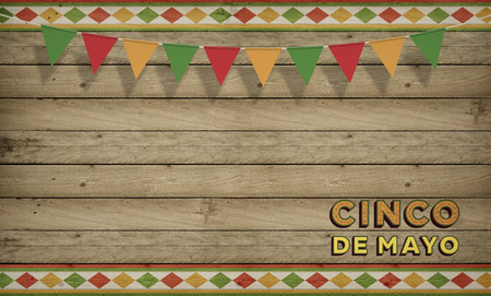 Cinco de Mayo, USA Mexican Celebration, Backgrounds Wood copy space
