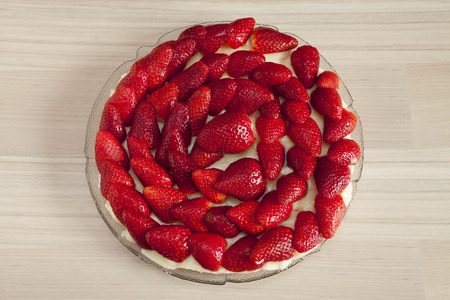 afters: Strawberry cake