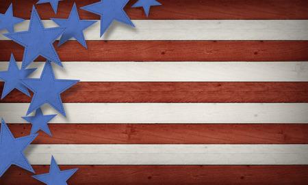 7 월 배경의 넷째, 미국은 복합 테마 스톡 콘텐츠