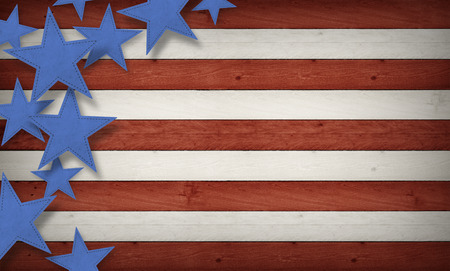 Fourth of July, Background, USA themed composite