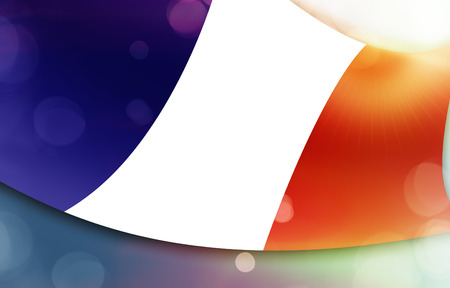 national colors: French flag, national colors Stock Photo