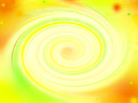 esot�risme: Swirl fond, jaune, orange