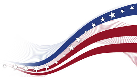 themed: Fourth of July, Background, USA themed composite