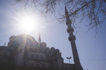 cami: Turkey, Istanbul, Yeni Cami mosque Stock Photo
