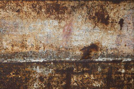 metal pattern: Rusting iron plate