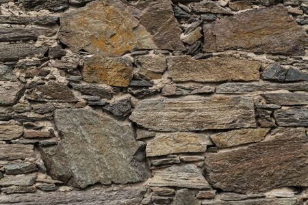 stone wall: Natural stone wall, background