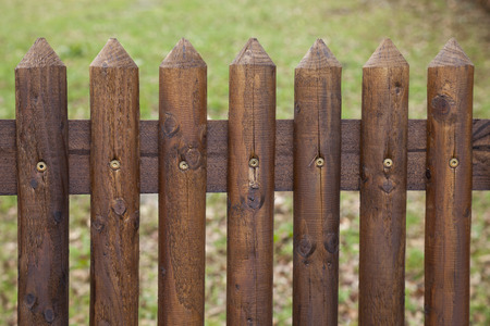 fence: Wooden fence
