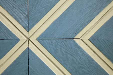 lineas blancas: Pared de madera azul, l�neas blancas