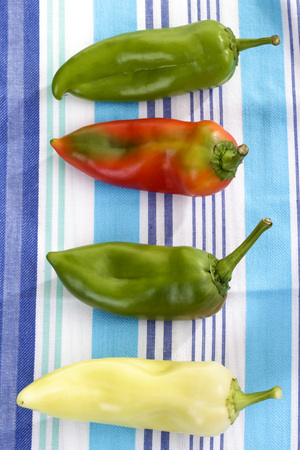 hungarian: Hungarian pointed peppers Stock Photo