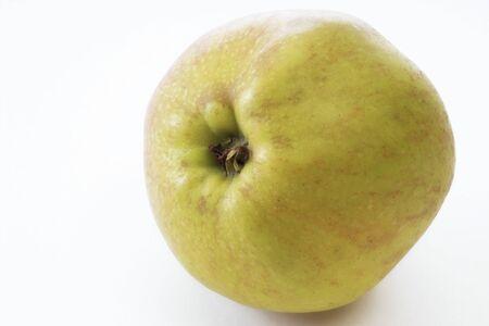 vitamines: Boskop apple Stock Photo