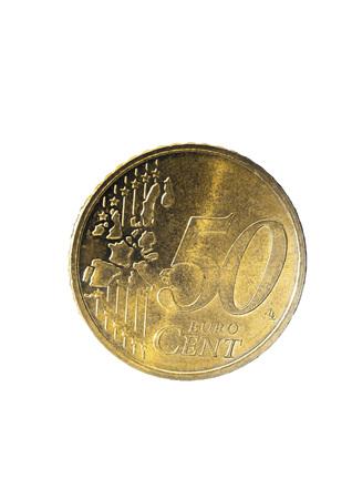 50 euro: 50 Euro Cent Coin