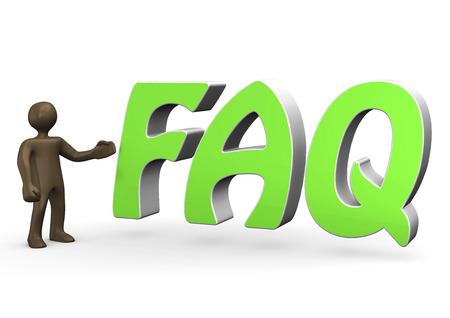 3d  illustration: 3D Illustration, Comic-figurine, FAQ