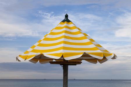 baltic sea: Germany, Baltic Sea, sunshade