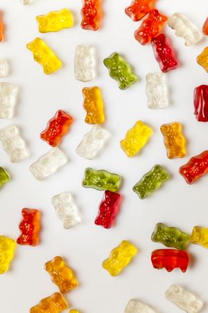 gummi: Gummi bears, white