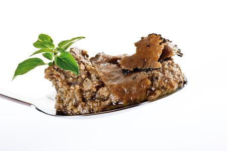 truffle: Truffle pesto on spoon