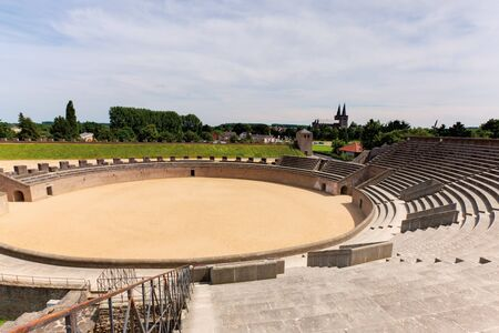 reconstruction: Germany,North Rhine-Westphalia,Reconstruction of amphitheater