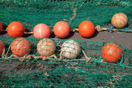 buoys: Fishing net and buoys