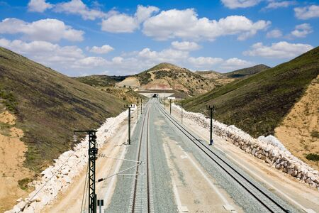 rail route: Spain,Andalusia,Railway track