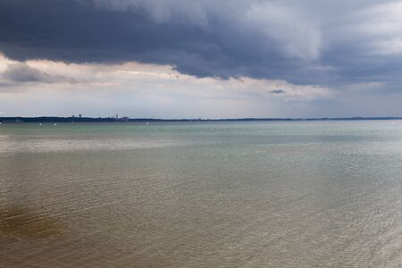stormy waters: Germany, Schleswig-Holstein, Baltic Sea