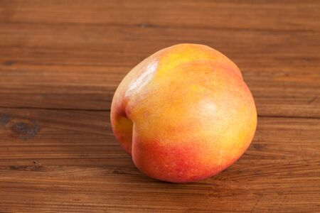 nectarine: Nectarine on wood