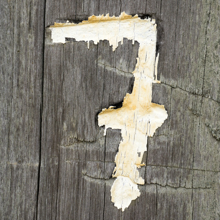 numbering: Wood, number seven