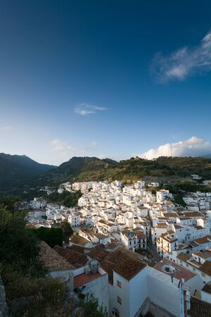 andalusia: Spain,Andalusia,Mountain village Casares