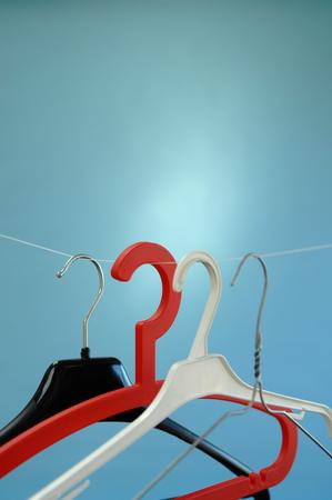 hangers: Clothes hangers