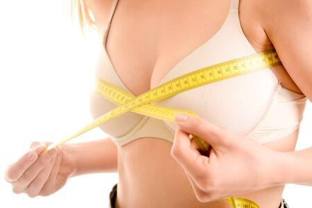 femme en sous vetements: Mesurer le tour de poitrine