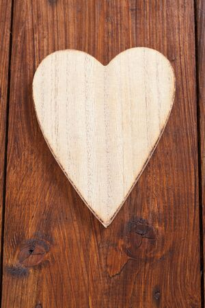 copy  space: Heart of wood, copy space