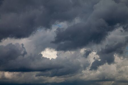 clouded: Clouded sky, dark clouds, dramatic
