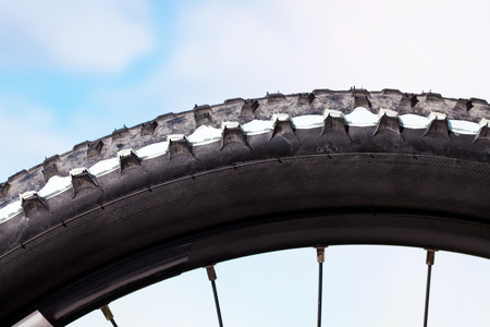 tyre tread: Bicycle, tire profile