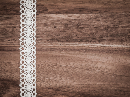 Christmas, lace, background wood, present