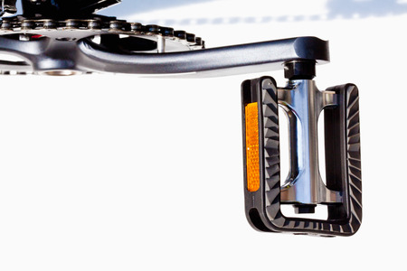pedal: Bicycle, pedal with reflectors