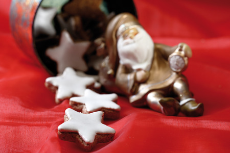 indulgence: Star-shaped cinnamon biscuits