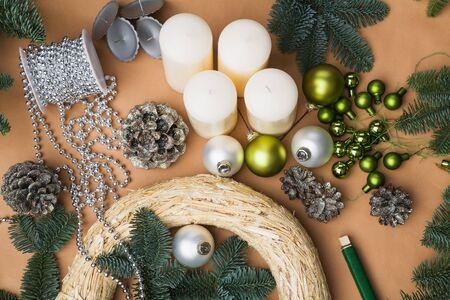 advent wreath: Decoraci�n, Corona de Adviento y accesorios