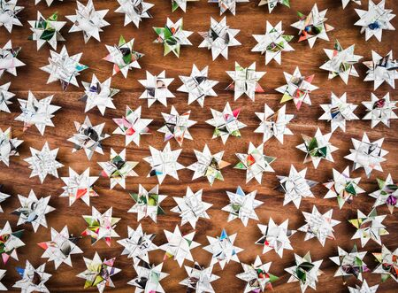 christmastime: Christmas, stars, background wood