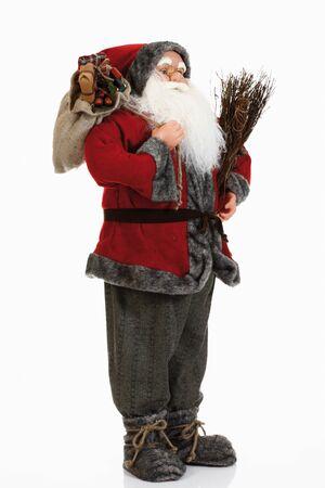 male likeness: Santa claus figurine, close-up Stock Photo
