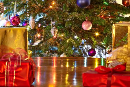 christmas tree presents: Christmas presents, Christmas tree